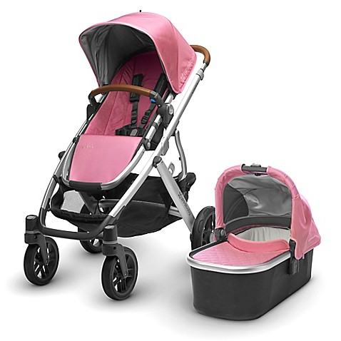 UPPAbaby® VISTA 2017 Stroller with Leather handles in ...
