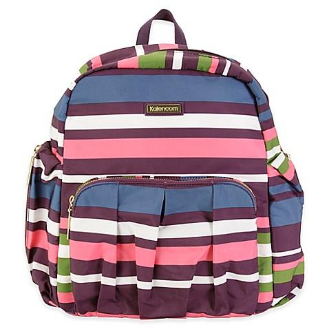 kalencom chicago backpack diaper bag in stripes buybuy baby. Black Bedroom Furniture Sets. Home Design Ideas