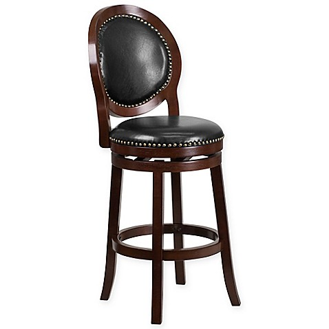 Flash Furniture Bar And Counter Stools In Black Cappuccino Bed Bath Beyond