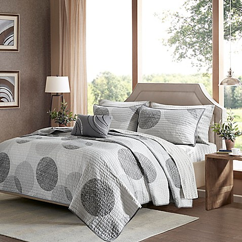 Madison Park Essentials Knowles Complete Coverlet Set at Bed Bath & Beyond in Cypress, TX | Tuggl