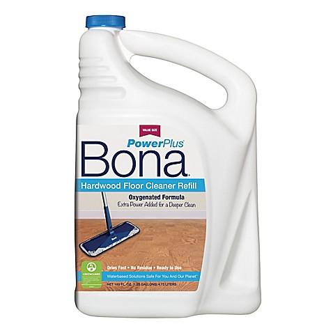 buy bona powerplus 160 oz hardwood floor deep cleaner refill from bed bath beyond. Black Bedroom Furniture Sets. Home Design Ideas