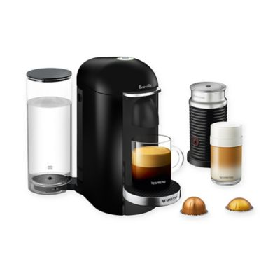 Nespresso Coffee Maker Bed Bath And Beyond : Nespresso by Breville VertuoPlus Deluxe Coffee and Espresso Maker Bundle with Aeroccino - Bed ...