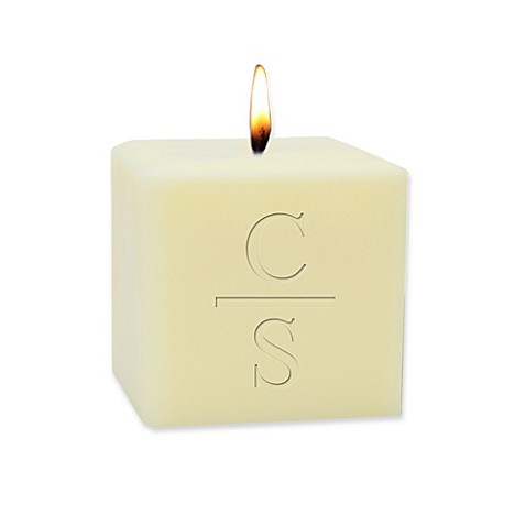 Carved Solutions Horizontal Divide Eco-Luxury Unscented Soy Wax Candle at Bed Bath & Beyond in Cypress, TX | Tuggl
