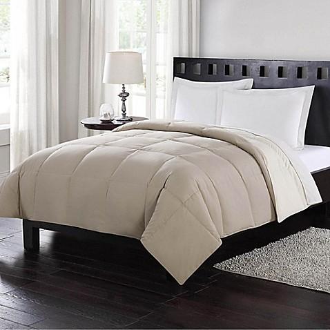 Buy London Fog® Full/Queen Reversible Down Comforter in ...