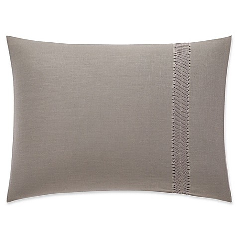 Vera Wang Home Winter Blossoms Trimmed Oblong Throw Pillow in Light Purple - Bed Bath & Beyond