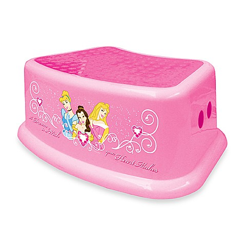 Buy Ginsey Disney 174 Princess Step Stool From Bed Bath Amp Beyond