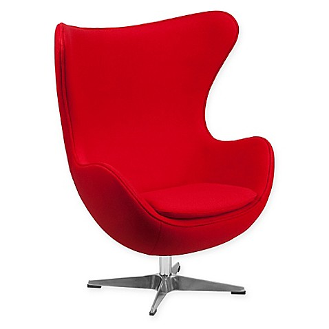 Flash furniture wool egg chair bed bath beyond - Fauteuil moderne ikea ...