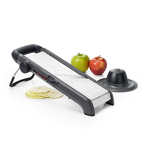 OXO Good Grips® Chef's Mandoline 2.0 Slicer in Silver/Black at Bed Bath & Beyond in Cypress, TX | Tuggl