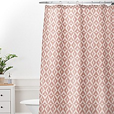 Deny Designs Khristian A Howell Nina in Pink Shower Curtain