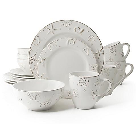 Thomson Pottery Hampton 16-Piece Stoneware Dinnerware Set at Bed Bath & Beyond in Cypress, TX | Tuggl