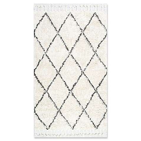 nuLOOM Moroccan Hand Knotted Fez Shag Rug at Bed Bath & Beyond in Cypress, TX | Tuggl