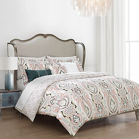 Valenza border comforter set bed bath beyond - Bed bath and beyond bedroom furniture ...