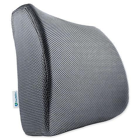 PharMeDoc® Orthopedic Lumbar Seat Cushion in Grey at Bed Bath & Beyond in Cypress, TX | Tuggl