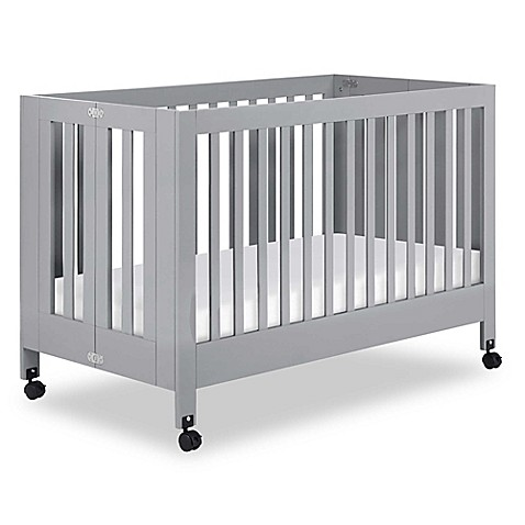 standard cribs babyletto maki full size portable crib in. Black Bedroom Furniture Sets. Home Design Ideas