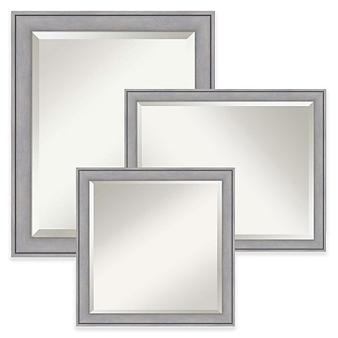Amanti Art Wall Mirror in Grey Wash | Tuggl