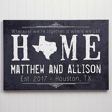 State of Love Canvas Print at Bed Bath & Beyond in Cypress, TX | Tuggl