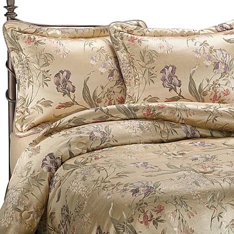 buy croscill california king comforter set in iris from