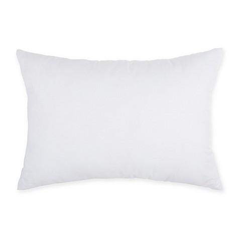 Make-Your-Own-Pillow Rectangle Throw Pillow Insert in White - Bed Bath & Beyond