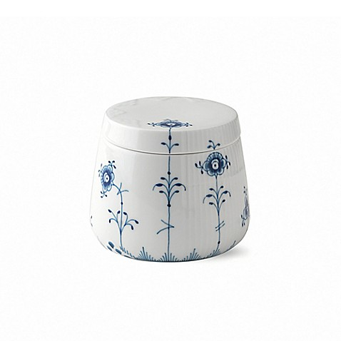 royal copenhagen elements small bowl with lid in blue. Black Bedroom Furniture Sets. Home Design Ideas