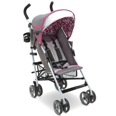 J is for Jeep® Brand Scout Lite Sport Stroller in Berry