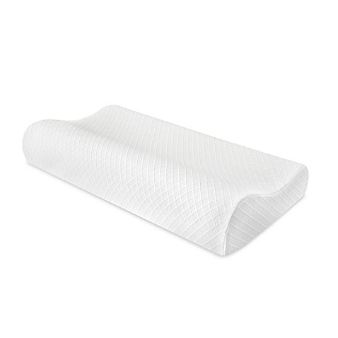 Therapedic® Contour Memory Foam King Bed Pillow at Bed Bath & Beyond in Cypress, TX | Tuggl