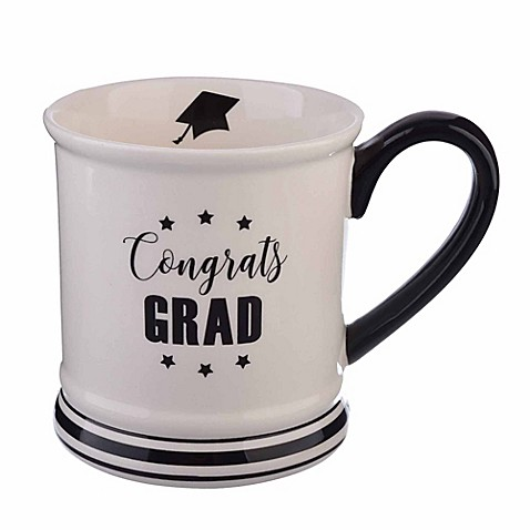 Formations 16 oz. Graduation Mug in White/Black at Bed Bath & Beyond in Cypress, TX   Tuggl
