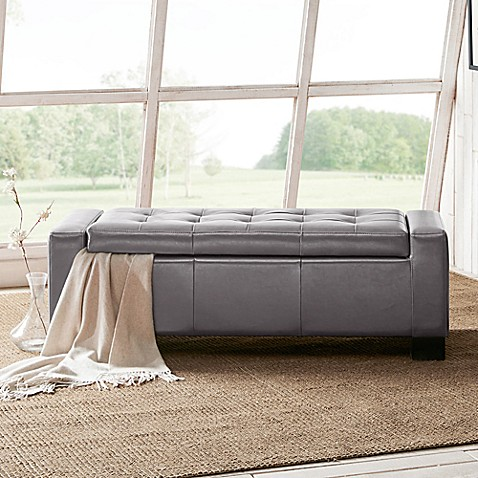 Madison Park Mirage Storage Bench at Bed Bath & Beyond in Cypress, TX | Tuggl