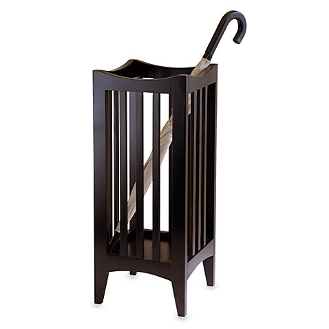 Wood Portland Umbrella Stand at Bed Bath & Beyond in Cypress, TX | Tuggl