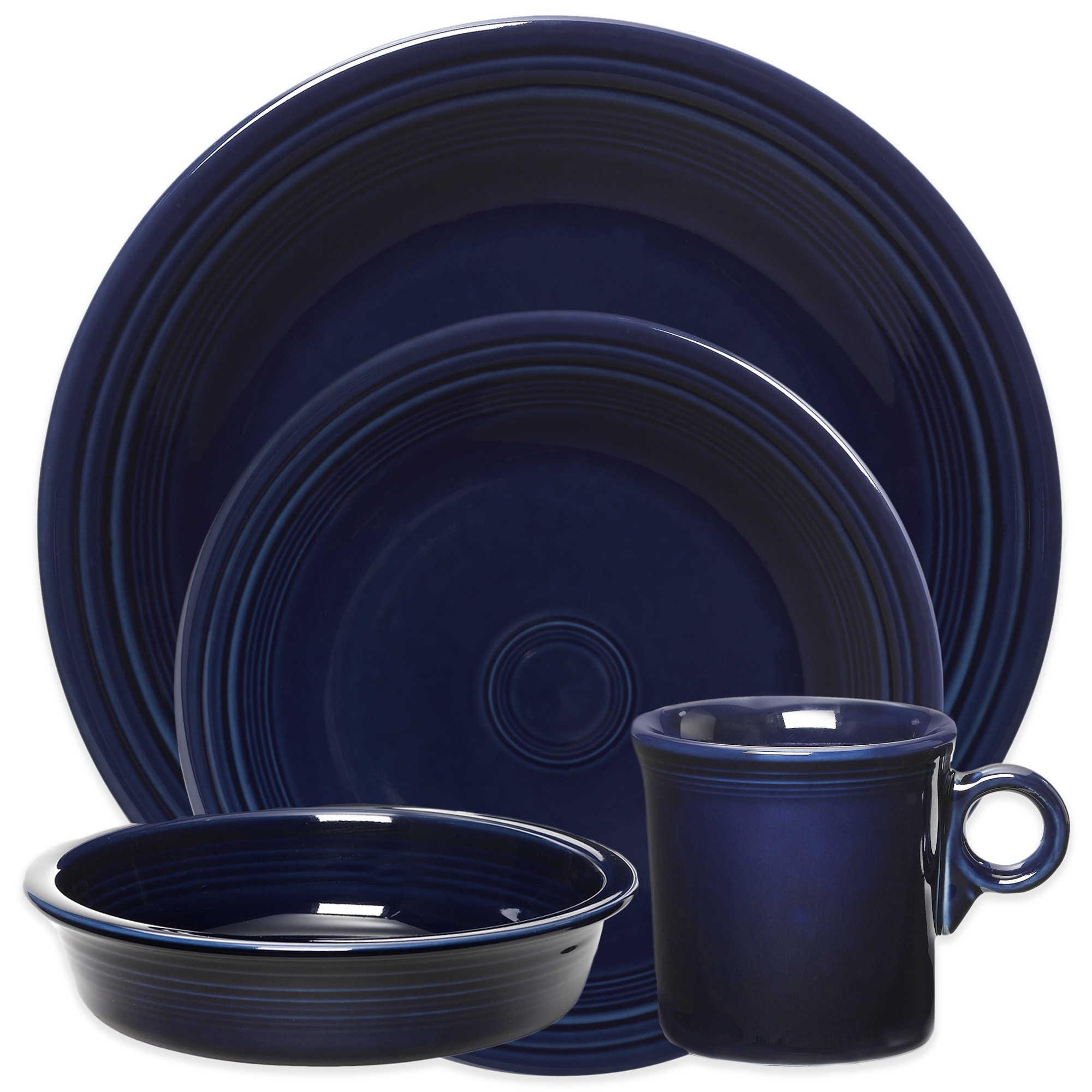 Cobalt Blue Toilet Serveware in Cobalt Blue