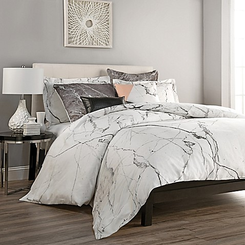 Carrara Duvet Cover Set Bed Bath Amp Beyond