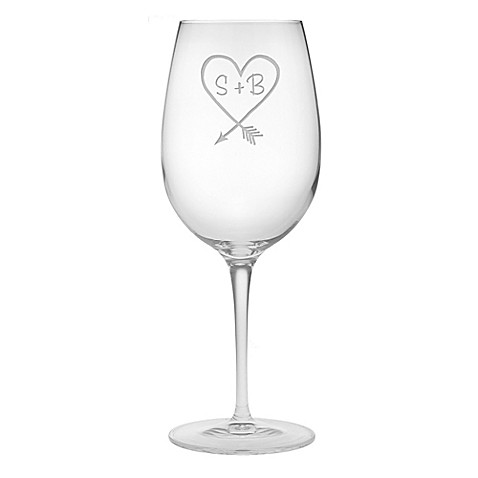 Susquehanna Glass Carved Bordeaux Wine Glass (Set of 2) at Bed Bath & Beyond in Cypress, TX | Tuggl