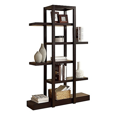 Monarch Specialties Open Concept Display Étagère Bookcase at Bed Bath & Beyond in Cypress, TX | Tuggl
