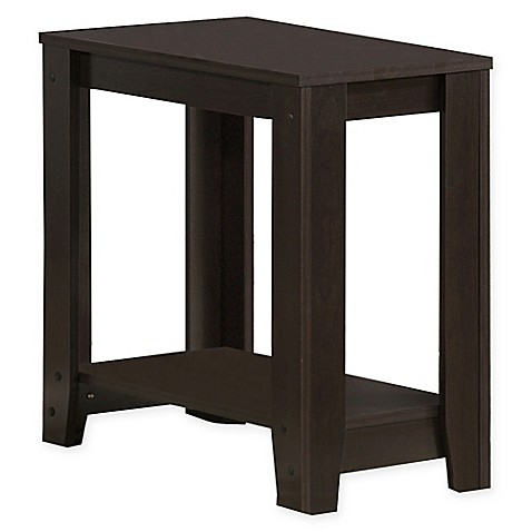 Buy Monarch Specialties 22 Inch Side Table In Cappuccino