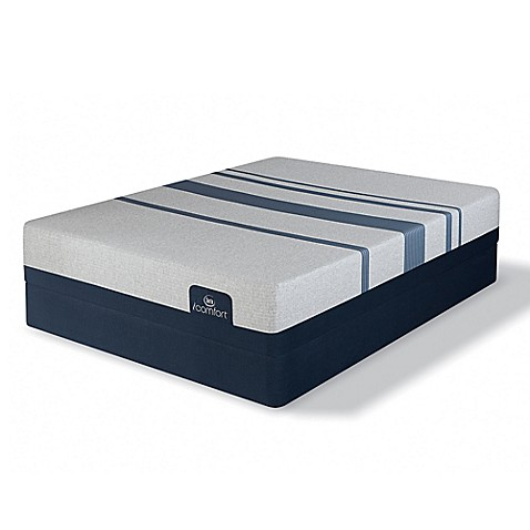 Buy Serta Icomfort Blue 500 Plush Low Profile Twin Xl Mattress Set From Bed Bath Beyond