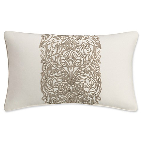Bridge Street Freemont Oblong Throw Pillow in Natural at Bed Bath & Beyond in Cypress, TX | Tuggl