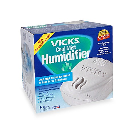 how to put vicks in humidifier