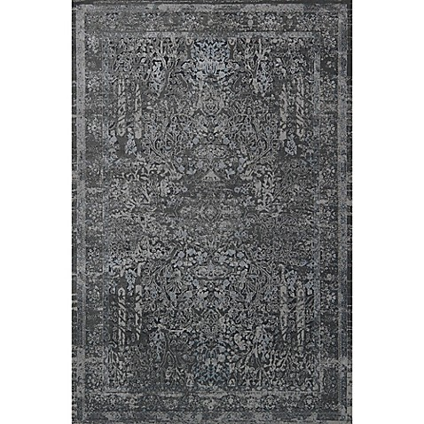 Magnolia Home By Joanna Gaines Everly Rug In Grey Bed