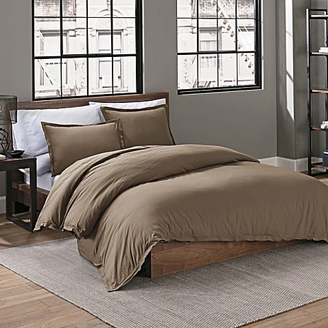 Garment Washed Solid Comforter Set at Bed Bath & Beyond in Cypress, TX | Tuggl