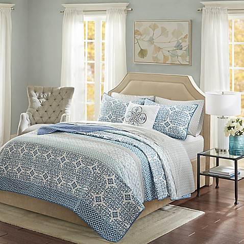 Madison Park Sybil Coverlet Set at Bed Bath & Beyond in Cypress, TX | Tuggl