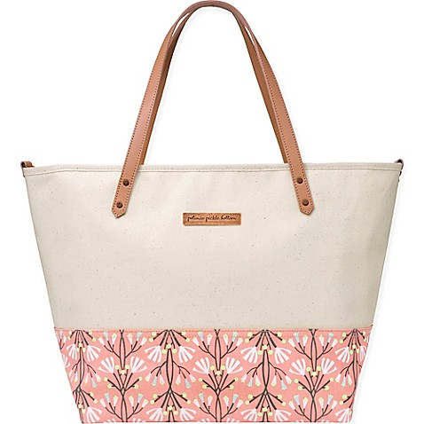 totes petunia pickle bottom downtown tote diaper bag in birch blissful brisbane from buy buy baby. Black Bedroom Furniture Sets. Home Design Ideas