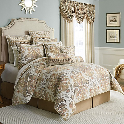 Croscill 174 Nadalia Reversible Comforter Set Bed Bath Amp Beyond