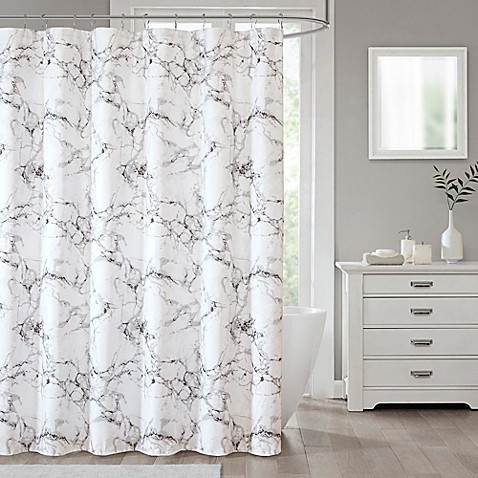 Marble Shower Curtain Collection at Bed Bath & Beyond in Cypress, TX | Tuggl