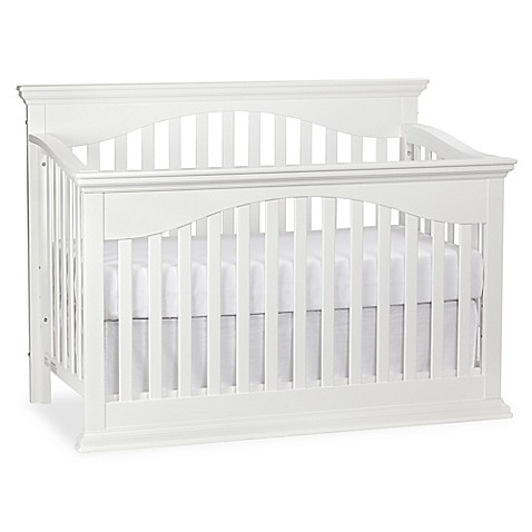 Bailey 4 In 1 Lifetime Convertible Crib In White From