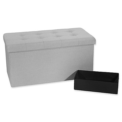 Foldable Storage Ottomans From Bed Bath And Beyond
