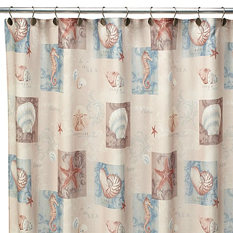 Bed Bath And Beyond Seashell Shower Curtain