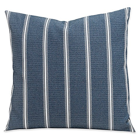 SIScovers® Revolution Plus Everlast Hamilton 20-Inch Square Throw Pillow in Blue/White at Bed Bath & Beyond in Cypress, TX | Tuggl