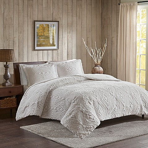 Woolrich® Teton Plush Coverlet Set at Bed Bath & Beyond in Cypress, TX | Tuggl
