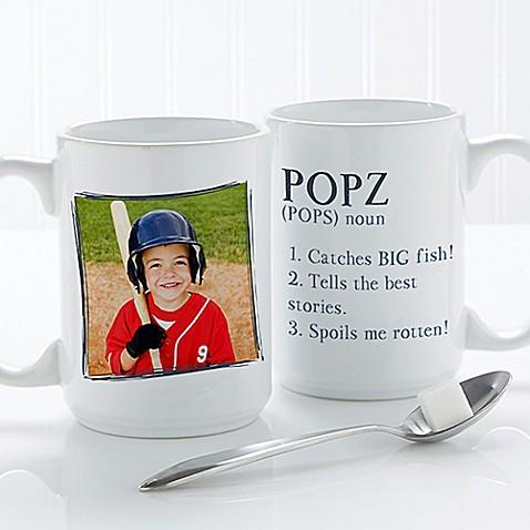 Definition of Dad/Grandpa 15 oz. Coffee Mug in White at Bed Bath & Beyond in Cypress, TX   Tuggl