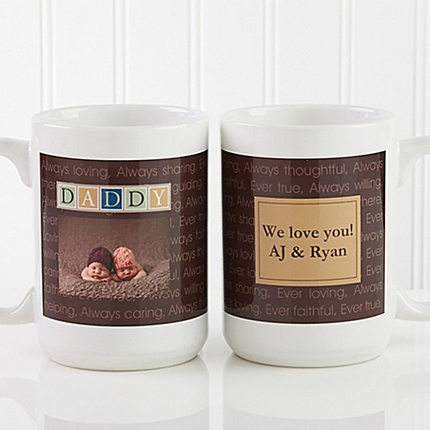 Just For Him 15 oz. Photo Coffee Mug in White at Bed Bath & Beyond in Cypress, TX   Tuggl