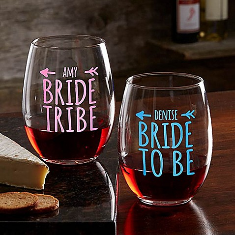 Bride Tribe Stemless Wine Glass at Bed Bath & Beyond in Cypress, TX | Tuggl
